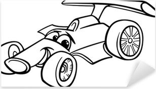 Yarış Arabası Yarış Arabası Boyama Poster Pixers Haydi