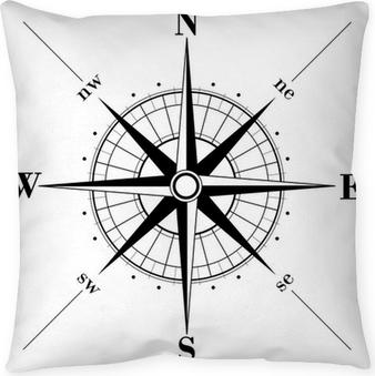 Cojín decorativo Compass rose