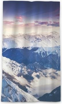 Cortina transparente Mountain Landscape