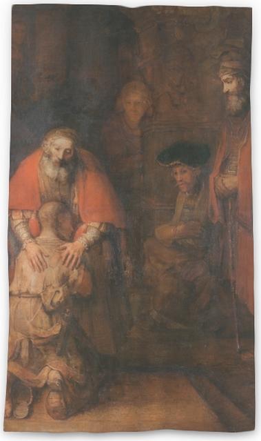 Cortina transparente Rembrandt - El retorno del hijo pródigo - Reproducciones