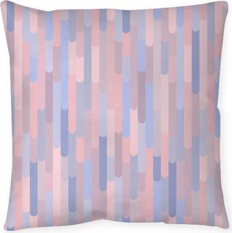 Coussin décoratif Des bandes verticales vecteur seamless pattern. Texture de fond dans des couleurs à la mode 2016: quartz rose