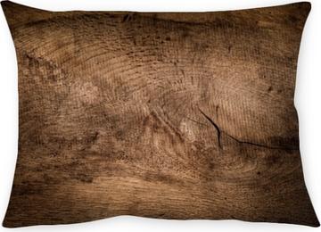 Coussin décoratif Fond de bois rustique, texture du bois