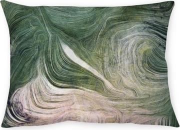 Coussin décoratif Nuances de vert