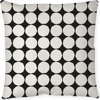 Coussin décoratif Seamless avec des éléments géométriques graphiques