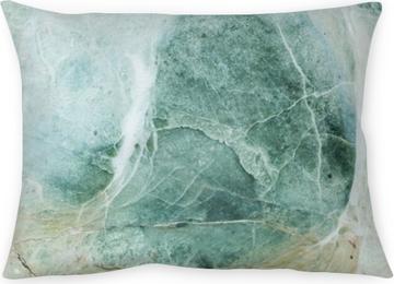 Coussin décoratif Surface de closeup de gros rocher de marbre pour la décoration dans le fond de texture de jardin