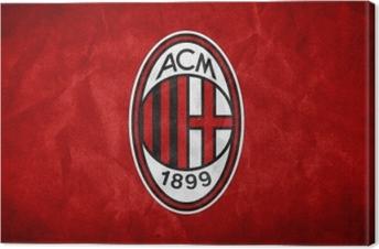 Cuadro en Lienzo A.C. Milan
