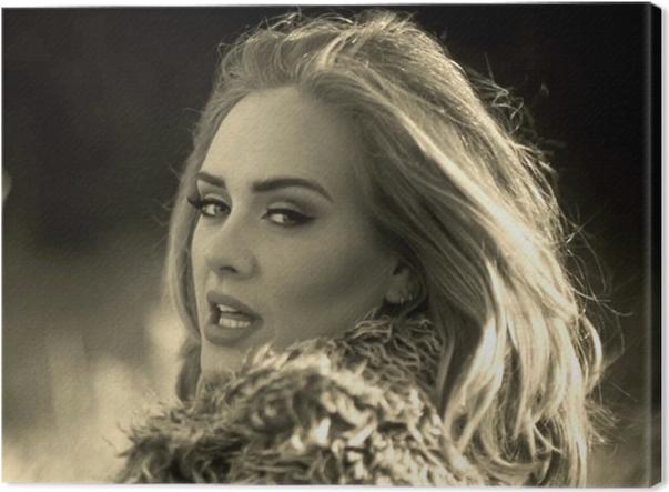 Cuadro en Lienzo Adele - Adele