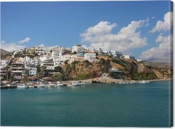 Cuadro en Lienzo Agia Galini Creta Griechenland