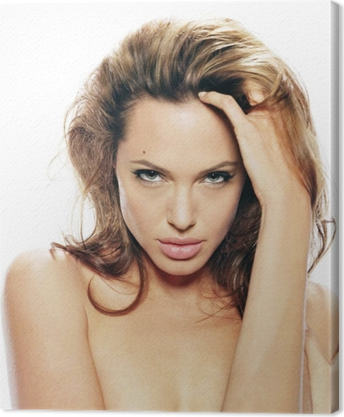 Cuadro en Lienzo Angelina Jolie - Angelina Jolie
