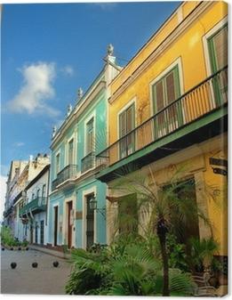 Cuadro en Lienzo Arquitectura típica de La Habana Vieja