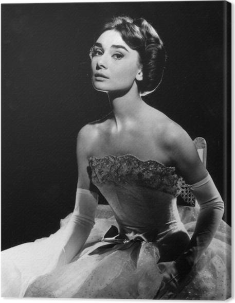 Cuadro en Lienzo Audrey Hepburn - Criteo