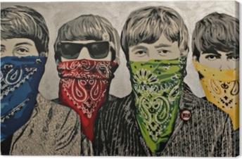 Cuadro en Lienzo Banksy