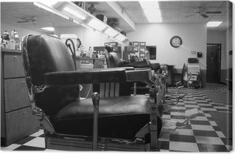 Cuadro en Lienzo Barber shop