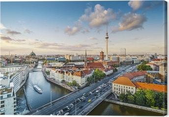 Cuadro en Lienzo Berlín, Alemania Paisaje en la tarde
