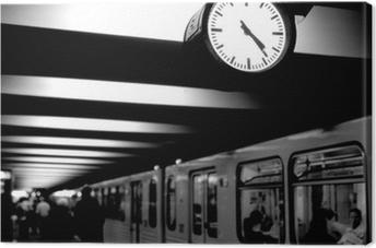 Cuadro en Lienzo Berlin, metro