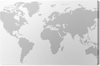 Cuadro en lienzo blanco y negro patrn de lneas verticales mapa del cuadro en lienzo blanco y negro patrn de lneas verticales mapa del mundo negativo gumiabroncs Gallery
