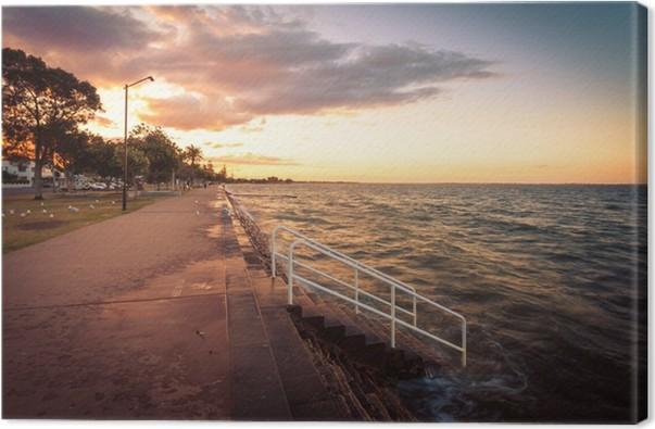 Cuadro en Lienzo Brisbane, Australia Costa • Pixers® - Vivimos para ...