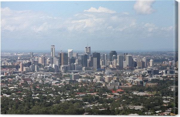 Cuadro en Lienzo Brisbane • Pixers® - Vivimos para cambiar