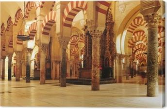 Cuadro en Lienzo Cahedral-Mezquita de Córdoba, en España