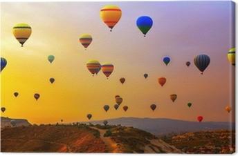 Cuadro en Lienzo CappadociaTurkey globos.