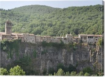 Cuadro en Lienzo Castellfollit de la Roca, Girona (Spain)