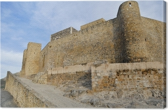 Cuadro en Lienzo Castillo de Alcaudete, Jaén (España)