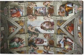 Cuadro en Lienzo Chapelle sixtine