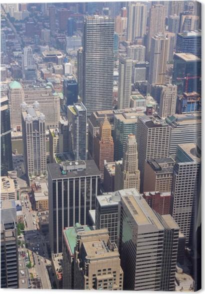 Cuadro en Lienzo Chicago, EE.UU. • Pixers® - Vivimos para cambiar