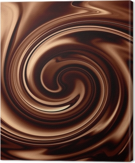 Cuadro en Lienzo Chocolate background