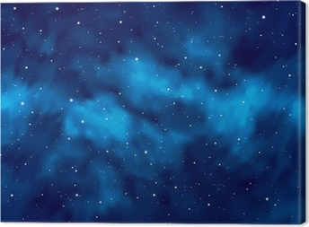 Cuadro en Lienzo Cielo nocturno con estrellas