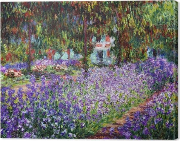 Cuadro en Lienzo Claude Monet - El jardín del artista en Giverny - Reproducciones