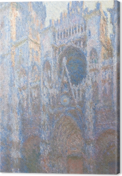 Cuadro en Lienzo Claude Monet - La catedral de Rouen - Reproducciones