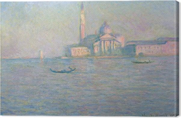 Cuadro en Lienzo Claude Monet - San Giorgio Maggiore - Reproducciones