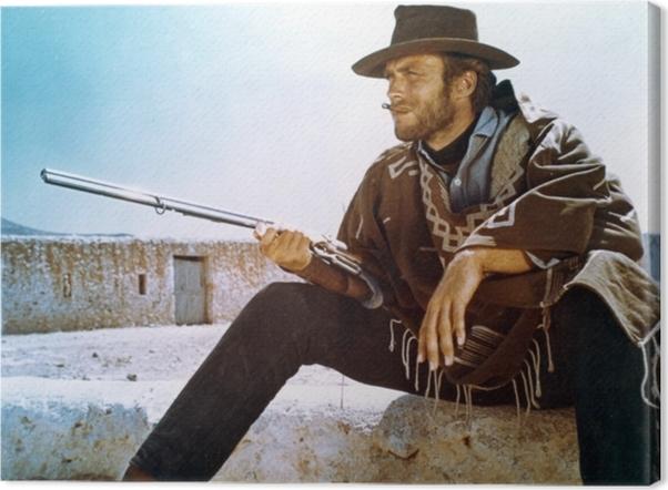 Cuadro en Lienzo Clint Eastwood - Criteo