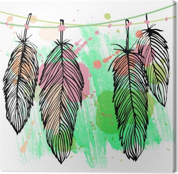 Dorable Pluma Tutorial Arte De Uñas Bandera - Ideas de Pintar de ...