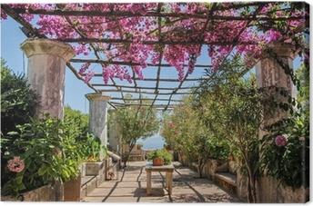 Cuadro en Lienzo Costa Amalfitana, fioritura