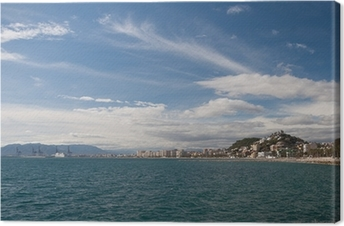 Cuadro en Lienzo Costa en Málaga