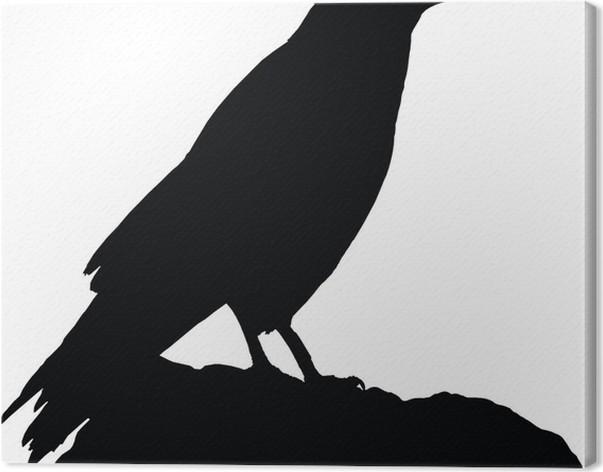 Cuadro en Lienzo Crow y Fontain • Pixers® - Vivimos para cambiar