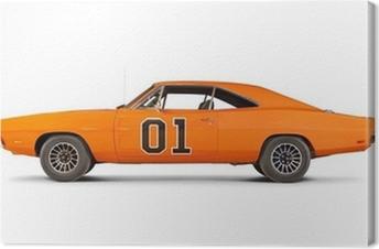 Cuadro en Lienzo Dodge Charger 1969
