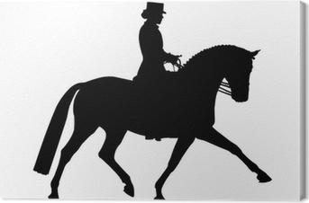 Cuadro en Lienzo Dressurpferd