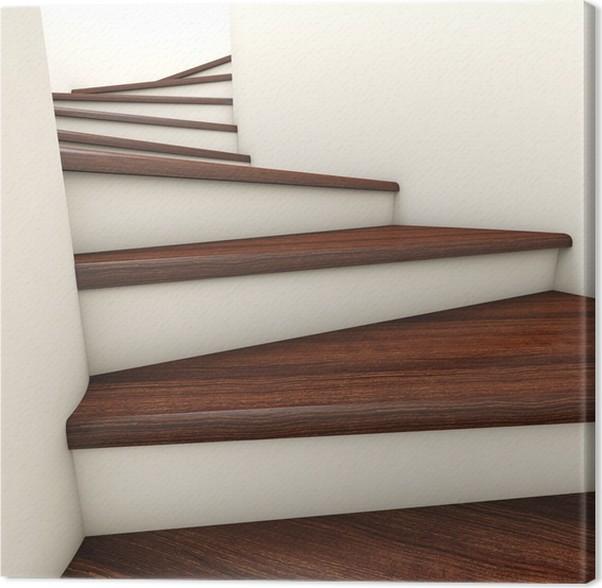 Perfect Cuadro En Lienzo Escalera D With Cuadros Para Escaleras.