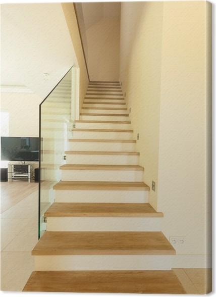 Perfect Gallery Of Cuadro En Lienzo Escaleras De Madera En Casa With Cuadros  Para Subida Escaleras With Cuadros Para Decorar Escaleras.