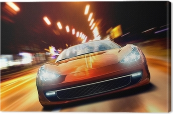 Cuadro en Lienzo Fast Sportscar