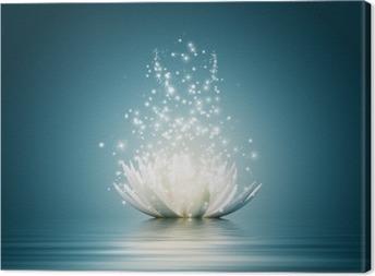 Cuadro en Lienzo Flor loto