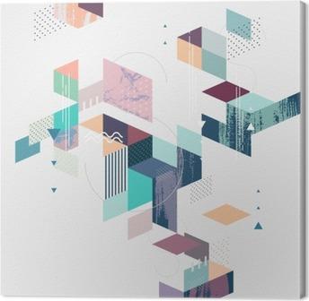 Cuadro en Lienzo Fondo geométrico abstracto moderno