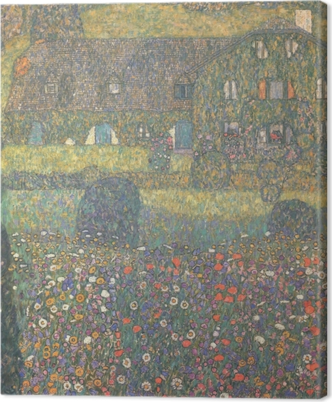 Cuadro en Lienzo Gustav Klimt - Casa de Campo en el Attersee - Reproducciones