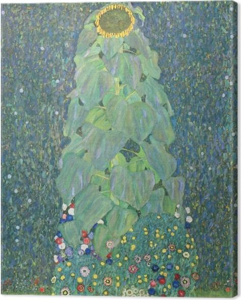 Cuadro en Lienzo Gustav Klimt - Girasol - Reproducciones
