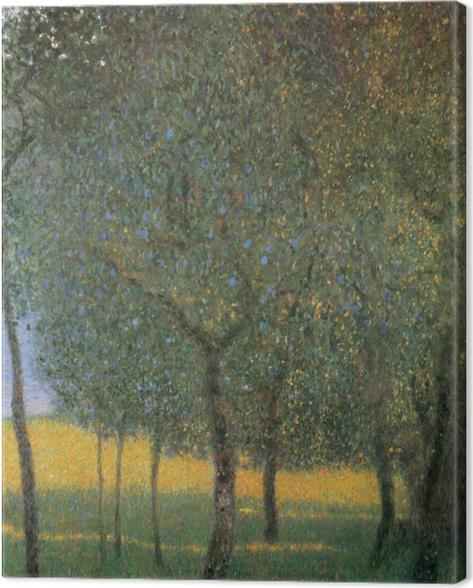 Cuadro en Lienzo Gustav Klimt - Los árboles frutales en el Attersee - Reproducciones