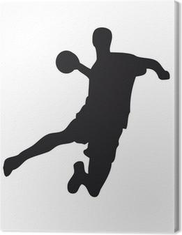 Cuadro en Lienzo Handballer
