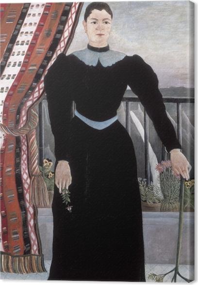 Cuadro en Lienzo Henri Rousseau - Retrato de una mujer - Reproducciones